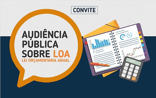 Convite para audiência pública para discussão da LOA