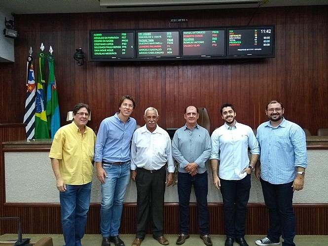 Comissão composta por vereadores e Presidente da Câmara de Bálsamo visitam Jundiaí para conhecer sistema de informatização utilizado pelo Legislativo local